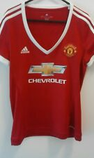 Manchester United Chevrolet Football Top Ages 12-14 Medium BLIND 17