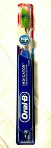 New Oral B Pulsar Indicator Color Collection Medium Bristle Toothbrush A64.2