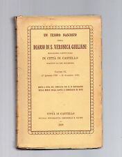 diario di s.veronica giluliani scritto da lei in citta di castello volume nono