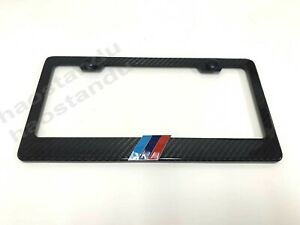 Goodcover 2pcs Silver Metal Stainless Steel Carbon Fiber Texture License Plate Frame for RAM Applicable to All RAM tag License Frame Silver RAM