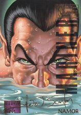 1995 Fleer Marvel Masterpieces E-Motion Trading Card #72 Namor