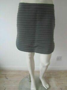 New £780 Brunello Cucinelli Ribbed Cotton Skirt