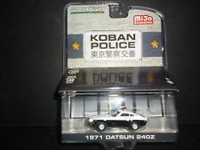 Greenlight Datsun 240Z 1971 Koban Police 51156 1/64