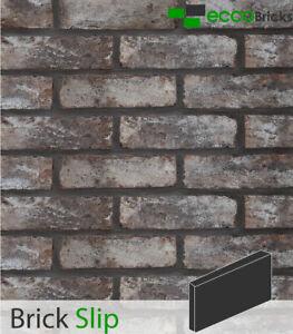 Handmade Brick Slips Tiles Decoration Wall %100 Natural Bricks-Antique Ash Grey