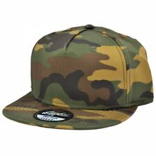 CARBON 212 GREEN CAMOUFLAGE PRINT SNAPBACK CAP