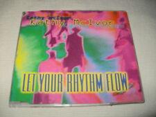 KATHY MCIVER - LET YOUR RHYTHM FLOW - 5 MIX CD SINGLE