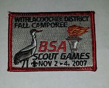 2007 Fall Camporee (Withlacoochee District) BSA Scout Games