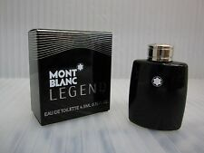 MONT BLANC LEGEND POUR HOMME 0.15 oz / 4.5 ML EDT Miniature New In Box