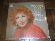 Beverly Sills - Opera Arias Album 2 1980 LP Angel Records SZ-37727 SEALED Mint