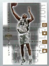 2001/02 ULTIMATE COLLECTION TIM DUNCAN  #ED189/750