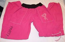 Zumba Party In Pink Zumba Fitness Pants S Exercise Womens Bright Breast Cancer
