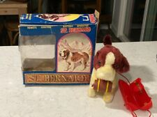 battery op toy by Alps St Bernard 1950's working condition
