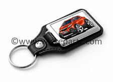 WickedKarz Cartoon Car Vauxhall Mokka Mini SUV in Metallic Orange Key Ring