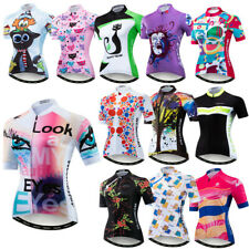 Look At My Eye Cycling Jersey Women Summer Bicycle Shirt Breathable Bike Clothes