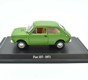 Model Car Fiat 127 Scale 1/43 diecast NOREV modellcar Static vehicles