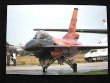 Photo General Dynamics F-16 J-015 Solo Display RNLAF Open Dag KLu 2009 BIG