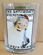 Norman Rockwell Glass Bp Presents The Saturday Evening Post Christmas Dec 3 1927