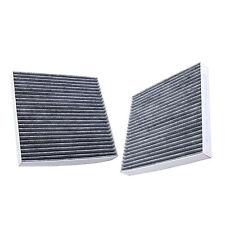 2x HQRP Filtro de Aire de Carbón Activado de Cabina para FRAM CF10134 Reemplazo