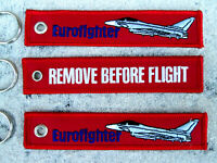 EUROFIGHTER  3er SET Remove Before Flight  /Avion / YakAir