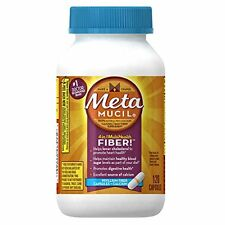Metamucil Multi-Health Fiber Capsules Plus Calcium by Meta 120 Each