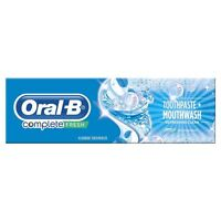 Oral-B Complete Pro Toothpaste & Mouthwash 2-in-1 Refreshing Peppermint - 100ml