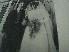 ephemera 1966 sussex picture wedding daphne green dr david john browning