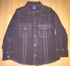 Boys charcoal shirt for 2 years from Adams - worn twice, excellent condition