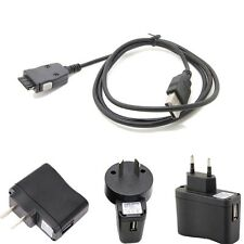 1A USB Wall Battery Charger power adapter CABLE forSamsung mp3 YP-P2 YP-K3J _su