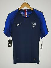 France 2018 Authentic Vapor Home Jersey Football Shirt Maillot Maglia *BNWT* M