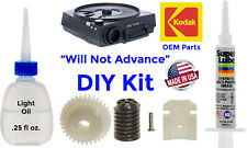 Repair Kit w/Lubricant For Kodak Carousel Slide Projector (Not Advancing)