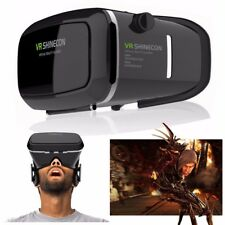 Virtual Reality 3D VR Shinecon Headset Glasses for iPhone Android Video Game UK