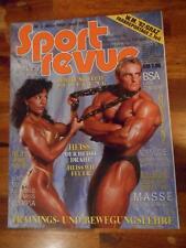 SPORT REVUE bodybuilding muscle magazine ANDREAS MUNZER 3-93 (Ger)