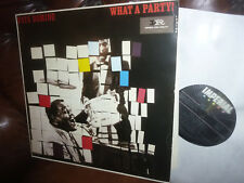 """Fats Domino, What a party. Rock 'n' roll, FranceW Imperial LP 9164 LP, 12"""" 1983"""