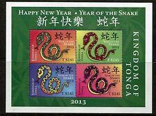 Tonga ca 2013 china chinese year snake serpiente Schlange slang serpente ms4v **