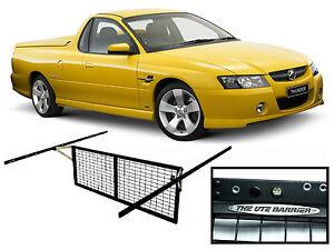 HOLDEN VT VU VX VY VZ UTE ADJUSTABLE CARGO BARRIER SYSTEM with LED  LIGHTS