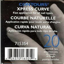 SALLY BEAUTY SUPPLY CONTOURS 20 XPRESS CURVE ARTIFICIAL NAIL TIPS 715354