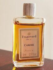 Fragonard CARESSE Parfum 5 ml 0.17 fl oz Bottle Mini Travel Size Vintage Perfume
