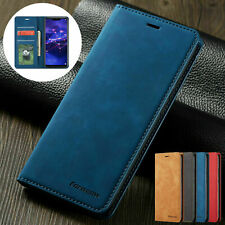 For iPhone 11 Pro Max 6S 7 8 Plus XR XS Magnetic Flip Case Leather Wallet Cover