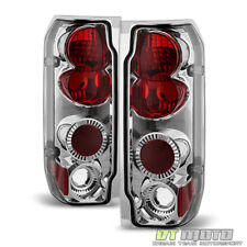 1987-1996 Ford F150 F250 F350 87-96 Bronco Altezza Tail Lights Lamps Left+Right