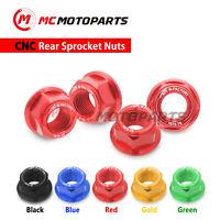 SILVER CNC 1pc Triple Nuts Fit Ducati 1098 1198 R S 916 996 998 MTS