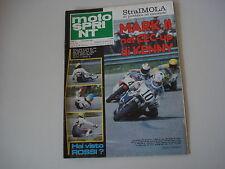 MOTOSPRINT 16/1980 PROVA TEST MOTO SWM TF 2 TF2 250 CROSS/SERVIZIO DUCATI 900 SS