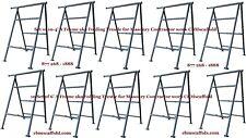 Set of 10 - 4' A Frame aka Folding Trestle 4 Masonry Contractor work Cbmscaffold