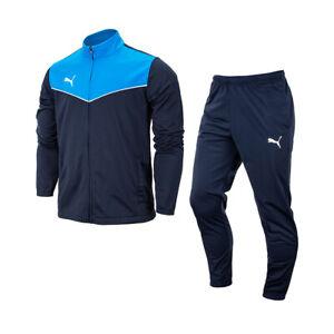 Puma Tracksuits Sets Training Suit Men's Sports Athletic Gym Soft Navy 65753402