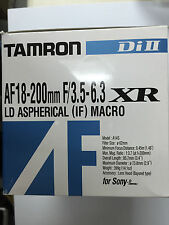 Tamron AF 18-200mm f/3.5-6.3 XR Di II LD IF A14S for Sony A-Mount APS-C DSLR's