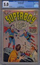 SUPERBOY #68 CGC 5.0 ORIGIN 1ST APP BIZARRO SUPERMAN