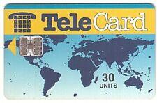 Pakistan - Chipcard - Telecard Worldmap 30 Units SN C51048430 5000 Ex. - Usagée