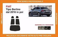 pellicola oscurante vetri fiat tipo berlina dal 2016 kit posteriore