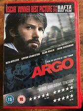 Ben Affleck Bryan Cranston ARGO ~ 2012 Iran Embassy Siege Thriller | UK DVD