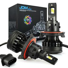 2x H13 9008 LED Headlight Conversion Kit 10000LM High Low Beam Bulbs 6000K Auto
