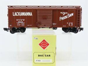 "G Scale Aristocraft ART-46012A DL&W Lackawanna ""Phoebe Snow"" Box Car #55228"